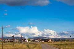 Nuvens do outono Imagens de Stock