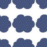 Nuvens do pop art Imagem de Stock