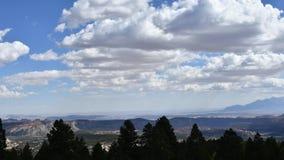 nuvens do Tempo-lapso vídeos de arquivo