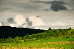 Nuvens do temporal Imagens de Stock Royalty Free