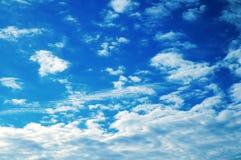 Nuvens do verão Fotografia de Stock