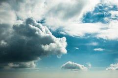 Nuvens do verão Fotografia de Stock Royalty Free
