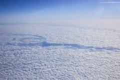 Nuvens do voo Imagens de Stock