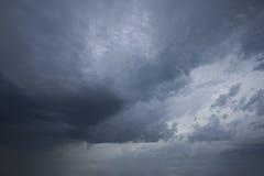 Nuvens dramáticas Foto de Stock