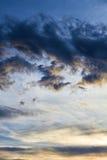 Nuvens dramáticas Fotografia de Stock Royalty Free