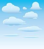 Nuvens e céu Fotografia de Stock