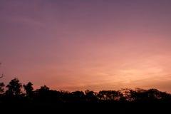 Nuvens e céu Foto de Stock Royalty Free