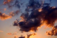 Nuvens e céu imagens de stock royalty free