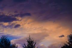 Nuvens e céu Fotos de Stock Royalty Free