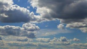 Nuvens e céu video estoque