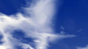 Nuvens e céu azul Foto de Stock Royalty Free