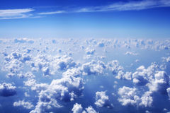 Nuvens e céu azul Imagem de Stock Royalty Free