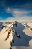 Nuvens e céu da montanha Foto de Stock Royalty Free
