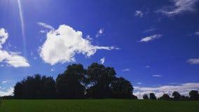 nuvens e céu do verão Fotografia de Stock Royalty Free
