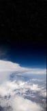 Nuvens e espaço Imagem de Stock Royalty Free