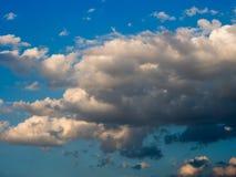 Nuvens e fundo do céu Foto de Stock Royalty Free