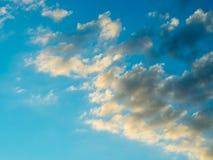 Nuvens e fundo do céu Fotos de Stock Royalty Free