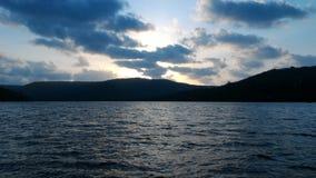 Nuvens e mar Fotos de Stock Royalty Free