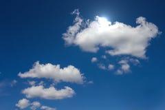 Nuvens e sol foto de stock royalty free