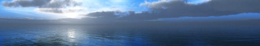 Nuvens e sol, céu bonito com nuvens Imagens de Stock