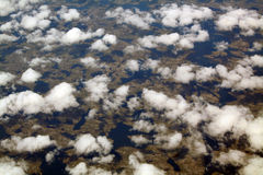 Nuvens e sombras imagens de stock royalty free