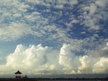 Nuvens em Sanur Fotos de Stock Royalty Free