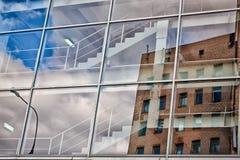 Nuvens em uma escada Foto de Stock Royalty Free