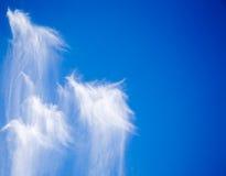 Nuvens engraçadas fotografia de stock