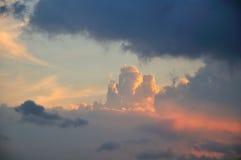 Nuvens escuras Foto de Stock Royalty Free