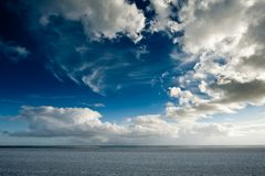 Nuvens extremas Fotografia de Stock Royalty Free