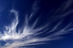 Nuvens Fleecy 2 Imagem de Stock