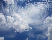 Nuvens furiosos Fotos de Stock Royalty Free