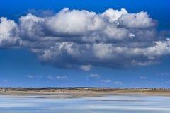 Nuvens grandes Fotografia de Stock Royalty Free