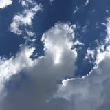 Nuvens mágicas Imagens de Stock