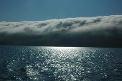 Nuvens mágicas Fotografia de Stock Royalty Free