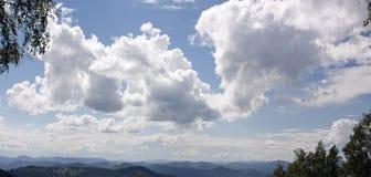Nuvens macias Fotos de Stock Royalty Free