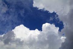 Nuvens macias Fotografia de Stock