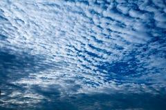 Nuvens macias no céu Imagem de Stock Royalty Free