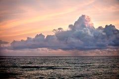 Nuvens majestosas Imagens de Stock Royalty Free