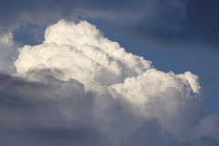 Nuvens majestosas Imagem de Stock