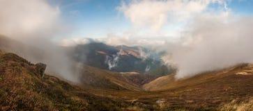 Nuvens majestosas Foto de Stock