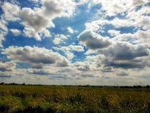 Nuvens maravilhosas Foto de Stock Royalty Free