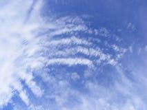 Nuvens não usuais Imagens de Stock