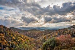 Nuvens na forquilha do leste Fotos de Stock Royalty Free