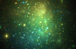 Nuvens Nebular Fotografia de Stock