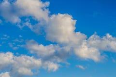 Nuvens no céu Fotografia de Stock