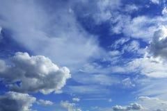 Nuvens no céu Imagem de Stock