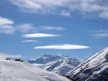Nuvens no céu Foto de Stock