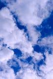 Nuvens no céu, ar fresco imagem de stock