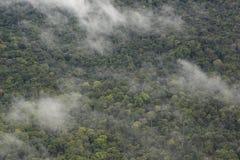 Nuvens no céu sobre a floresta em Venezeula Fotos de Stock Royalty Free